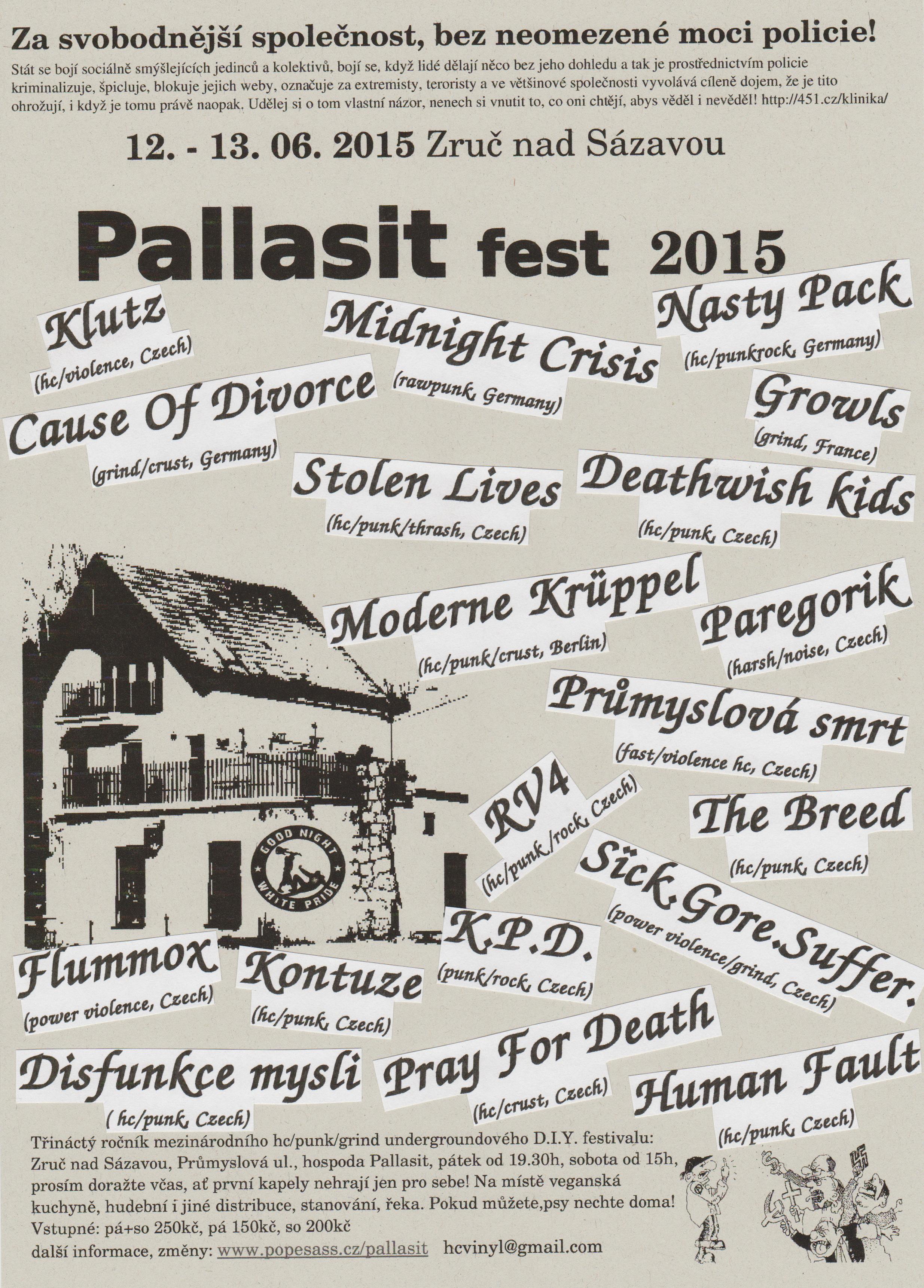 Plakát Pallasit fest 2015